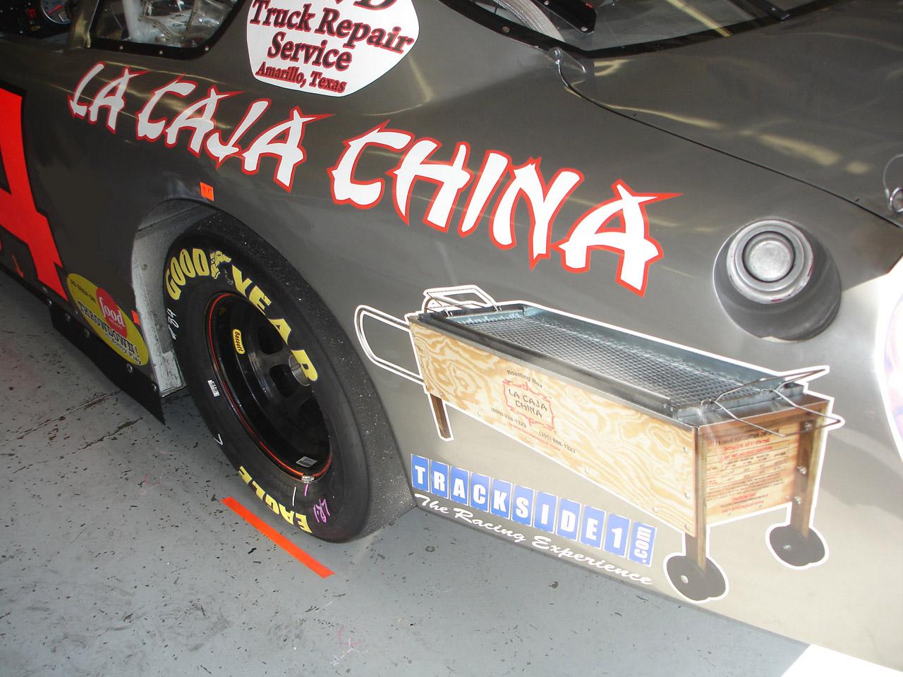 La Caja China - Rear Quarter Panel