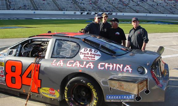 La Caja China on qualifying row